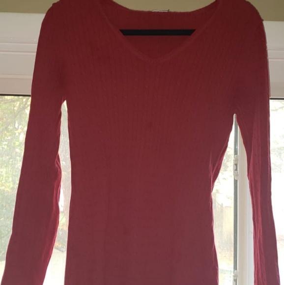 Motherhood Maternity Sweaters - Red maternity sweater